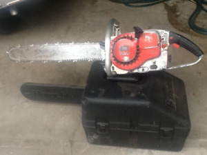 3 serviced chainsaws for sale