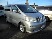 TOYOTA ALPHARD CAMPERVAN WITH REAR CONVERSION, ELECTRICS AND LEISURE BATTERY