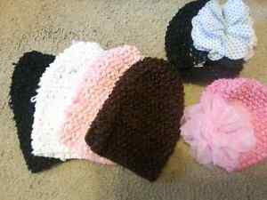 6 newborn hats from spoiled tots