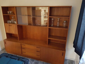 Solid Teak Wood Entertainment Unit For Sale  $900 OBO Edmonton Edmonton Area image 4