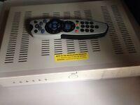 Sky box + remote