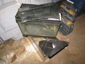 5.5/10 gallon tanks for reptiles leaky upon purchase