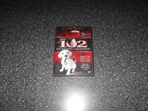 DVD Walt Disney Les 102 Dalmatiens (Rare)