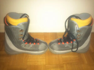 Mens BURTON MOTO Snowboarding Boots size 9.5-Good Condition