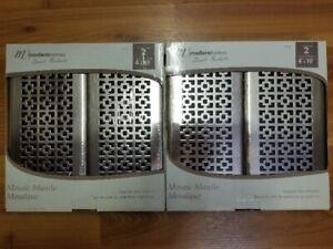 4x10 Designer floor register (4 pack) - Brand New
