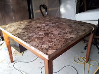 Beautiful Heavy & Stable Granite Table / Delivery +20$