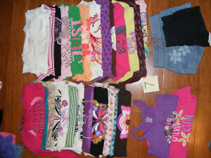 Lot of size 7 girls clothes