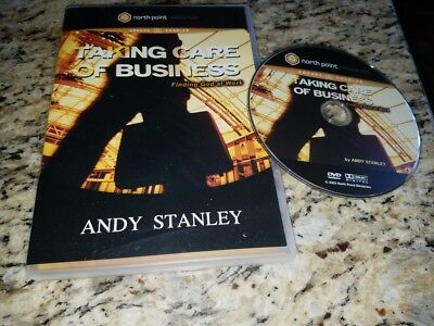Taking Care Of Business Dvd  Finding God At Work By Stanley  Andy
