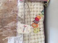 Mamas and papas cot bumper and mobile