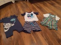 Free - 3 baby boy outfits 6-9 months