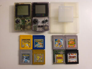 Gameboy console and games/Gameboy et jeux