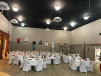 Event space, hall rentals