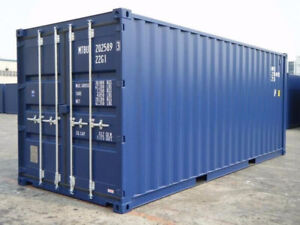 Containers maritimes 20ft neufs et occasions