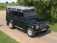 Land Rover 110 Defender 2.2I D XS Station Wagon 2013/13 12500 miles FSH