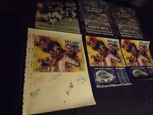 10 TORONTO ARGOS VARIOUS POSTERS Package Deal 1981-2000/S CFL