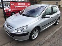PEUGEOT 307 1.4 HDI, £30 ROAD TAX, NOT ASTRA MEGANE FOCUS NOTE GOLF POLO