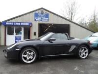2005 05 PORSCHE BOXSTER 987 2.7 24V 2D 240 BHP TIPTRONIC S FULL LEATHER PARKING