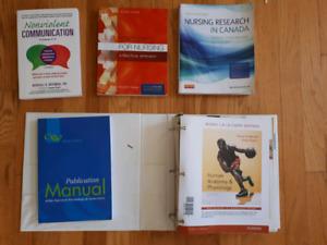 Nursing text books