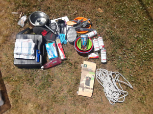Assorted Camping Accesories