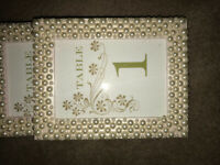 Wedding decor- table numbers 1-14