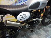 Herald Maverick 125 cc classic motorcycle scrambler old school Retro motorbike