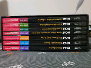 Kaplan complete 7 book set 2018-2019(NEW CONDITION)