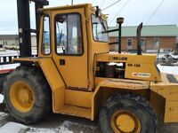 1997 Sellick SD100 2wd forklift
