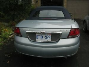2002 Chrysler Sebring Convertible - Immaculate