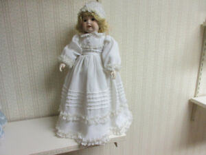 Doll Young Girl porcelain head/arms/legs