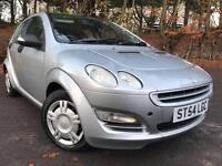 *1 OWNER*12 MTHS WARR *2004(54)SMART FOUR 1.3 PULSE 5DR AUTOMATIC WITH ONLY 78K*