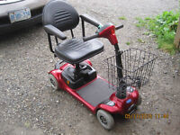 Invacare Lynx L-4 wheel mobility  Scooter A great looking, relia