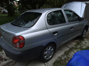 2002 Toyota Echo Full PART OUT 1NZ-FE 280 000km Silver Stratford Kitchener Area image 4