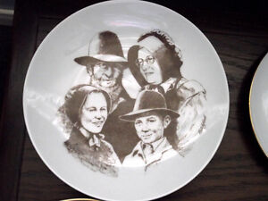 St. Jacob Mennonite Family Plate (Canadian Tradition)