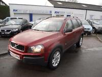 VOLVO XC90 2.4 D5 SE AWD AUTOMATIC GEARTRONIC 4WD DIESEL FULL HISTORY JUNE MOT