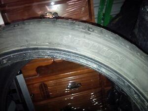 "18"" 225/40 Winter Tires Kitchener / Waterloo Kitchener Area image 3"