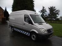 2011 61 MERCEDES SPRINTER 313CDi MWB WORKSHOP MOBILE TYRE FITTING COMPRESSOR VAN
