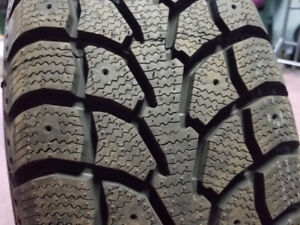 WINTER TIRES ON RIMS 235/65/17