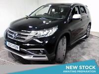 2013 HONDA CR V 2.2 i DTEC EX Auto Sat Nav Panroof Leather Bluetooth