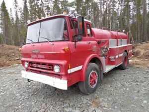 1978 gmc 6500 fire truck