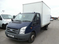 FORD TRANSIT T350 EF 2.4TDCI LUTON & TAIL LIFT 1 OWNER FINANCE ARRANGED