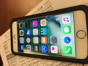 Apple iPhone 6 - 16gb gold with Tbaytel In mint condition