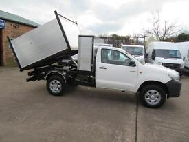2013 63 Toyota Hi Lux 29k 4wd 4x4 Single Cab Arb Tipper with tool box
