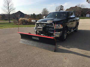 Hiniker Plow in nearly NEW condition Cambridge Kitchener Area image 1