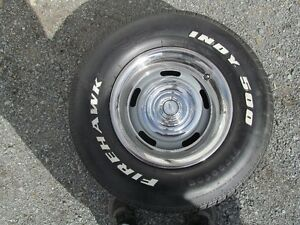 1969 Chevy C10 Rally Wheels and Tires 6 bolt set of 4 plus spare