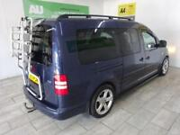 BLUE VOLKSWAGEN CADDY MAXI 1.6 C20 LIFE TDI 5D AUTO ***FROM £191 PER MONTH***