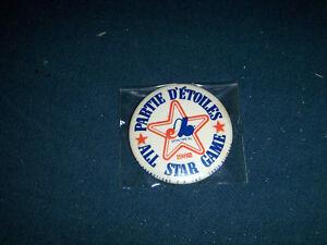 MONTREAL EXPOS BASEBALL TEAM ALL STAR GAME PINBACK-1982