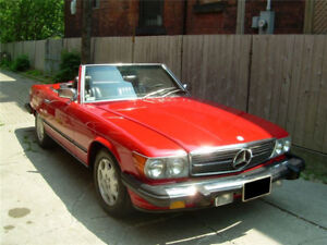 Mercedes Benz 380sl convertible