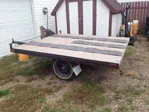 Homebuilt Tilting Flat Deck Trailer
