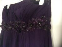 Size 14 (big size) Monsoon full length dressed used during pregnancy for weddings