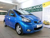 Toyota AYGO 1.0VVT-I BLUE [6X SERVICES and 20 ROAD TAX]